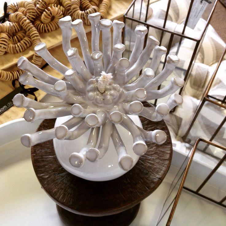 Ceramic floral burners by yilasophia @ Nom de Plume studio