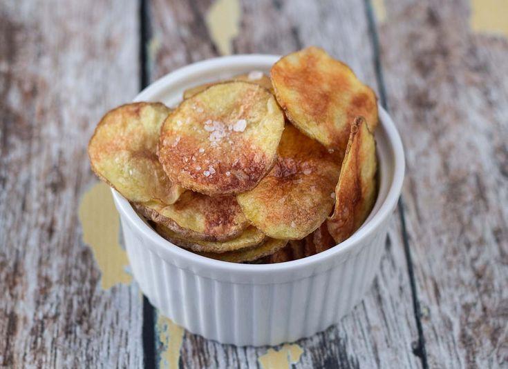 Chips i mikroovnen på bare 15 minutter! // Microwave Potato Chips in 15 minutes!