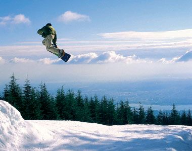 Snowboarding right at our fingertips.