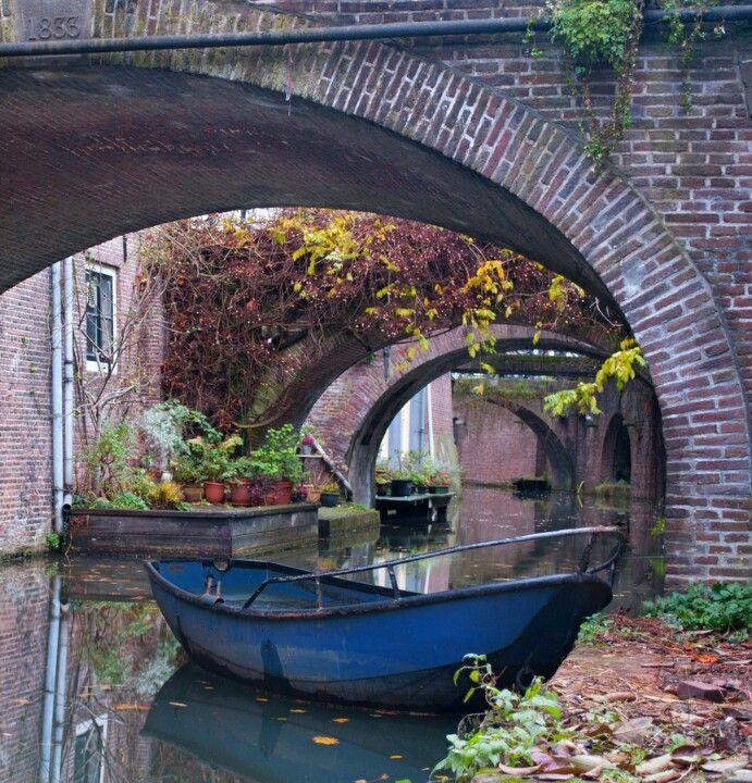 Along the Nieuwegracht - Utrecht, the Netherlands