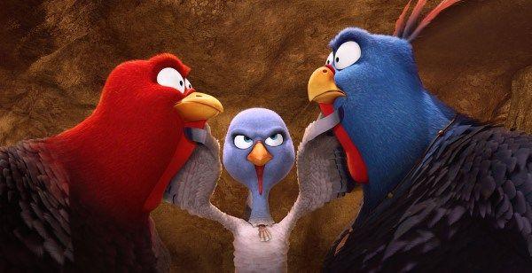 """Pavel Bartoş, cel mai curajos curcan în """"Păsări Libere 3D"""""""
