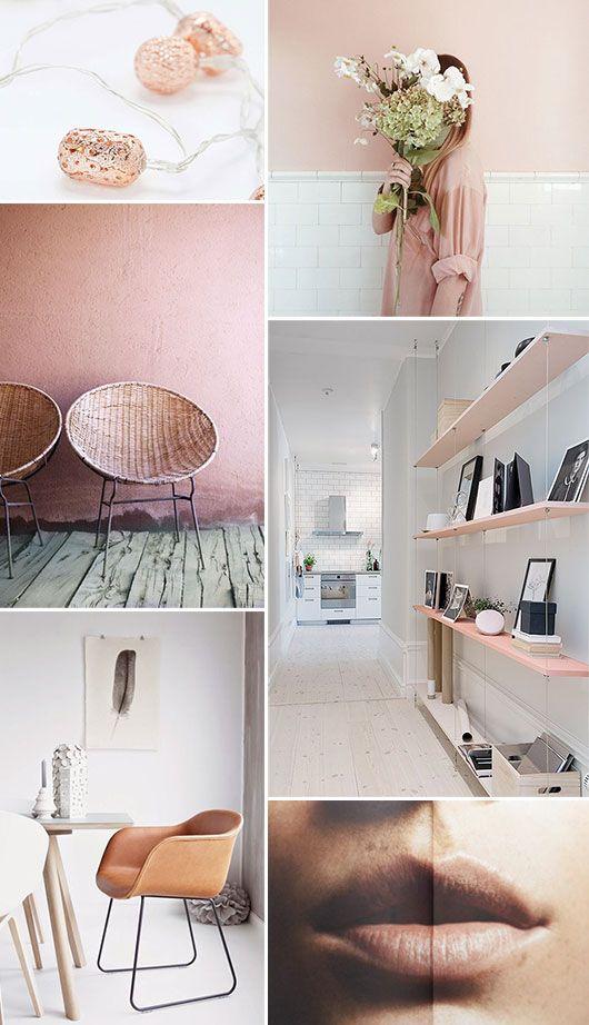 1000 images about color trend blush on pinterest. Black Bedroom Furniture Sets. Home Design Ideas