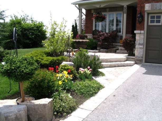17 Beautiful Front Yard Landscaping Canada Gallery Landscape Gardenflowe In 2020 Small Front Yard Landscaping Front Yard Landscaping Front Yard Landscaping Design