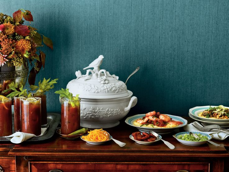 Host a Grits Bar Brunch   Come Sunday morn, serve up any of our basic grits recipes with decadent toppings.