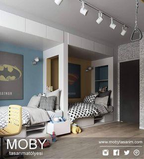 """""""Batman v Superman""""  #gencodasi #gencodalari #cocukodasi #cocukodalari #kidsroom #kidsdecor #kidsdecoration #decoration #decor #youngroom #youngbedroom #room #bedroom #interior #interiorfurniture #interiordesign #design #furniture #furnituredesign #icmimar #icmimarlik #mobilya #batman #batmanvsuperman"""