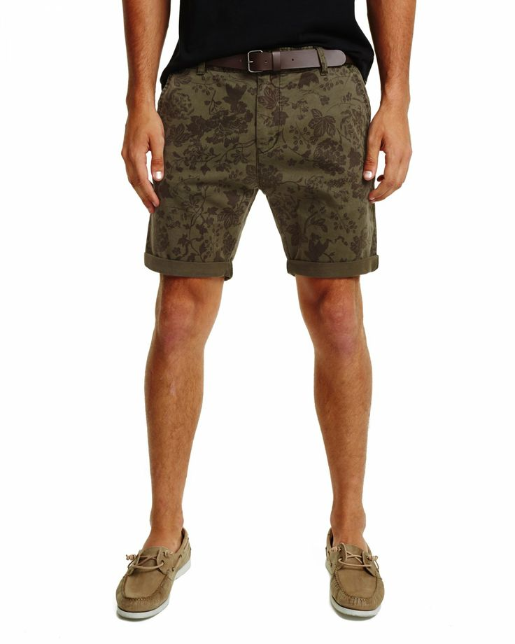Industrie Clothing | Online Store - THE FLORAL CUBA SHORT