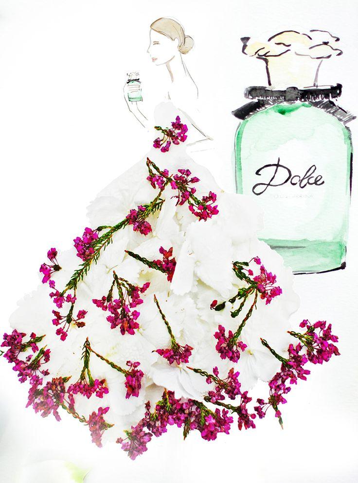See Grace Ciao's stunning #SaksGlamGardens creations for #DolceGabbana on #SaksPOV.