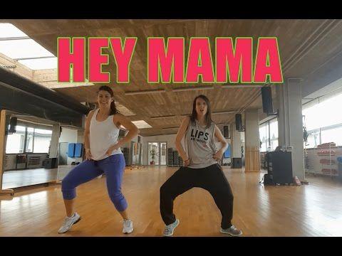 HEY MAMA - David Guetta feat. Nicki Minaj / Zumba con G'Dance - YouTube