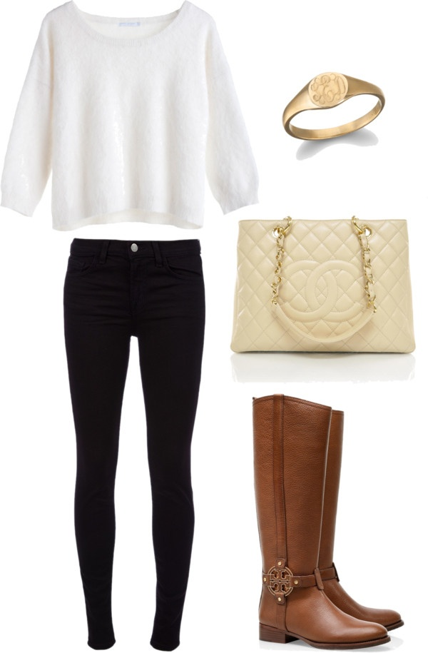Boots and bag make it perfect