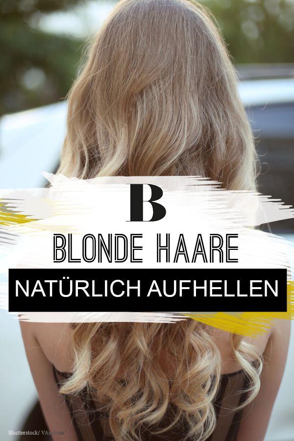 Blonde Haare Tipps Und Frisuren Für Ein Strahlendes Blond Blonde