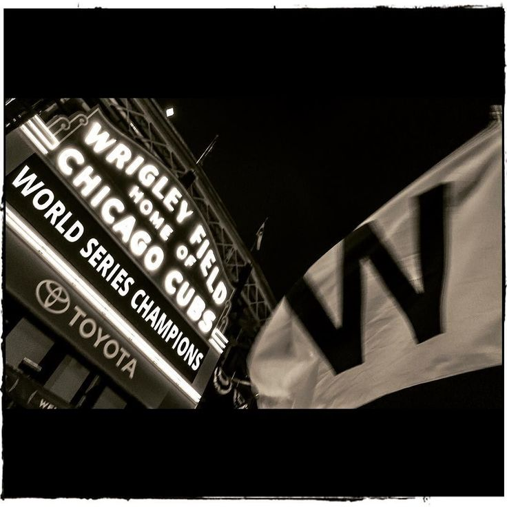 Go Cubs go go Cubs go hey Chicago what do ya say the cubs are gonna win today!!!! #cubs #worldserieschamps #chicago #wrigleyfield #wrigleyville #chicagocubs #curseofthebillygoat #streetphotography #blackwhite #bnw_captures #photography #iphone7 #bnw_captures #noiretblanc #raisetheflag #chicagogram #bw_photooftheday #bw_lover #photo #photooftheday #winning #weaintafraidofnogoat #noir #blacknwhite #blackandwhite #celebration #chicagocubs #2016 #explore #epic #what