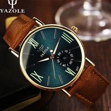 Yazole relojes luminosos Men ver las mejores marcas de lujo famosos nuevos 2016 reloj hombre reloj de cuarzo reloj de pulsera de cuarzo de moda(China (Mainland))