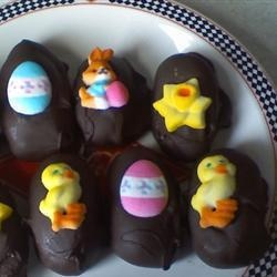 Chocolate Covered Easter Eggs | Recipe