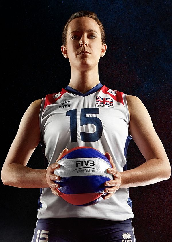 GB Olympic Volleyball Team on Photography Served