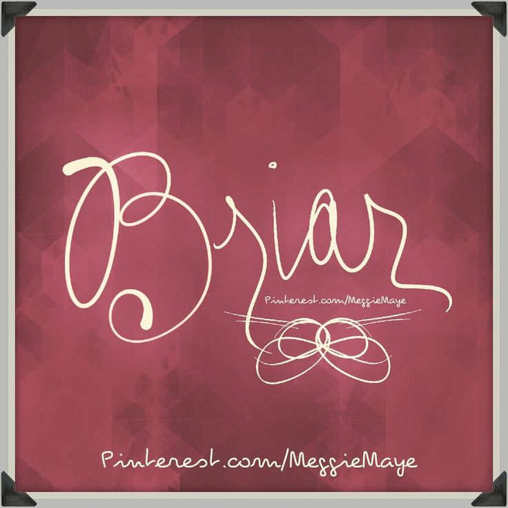 Briar rose meaning