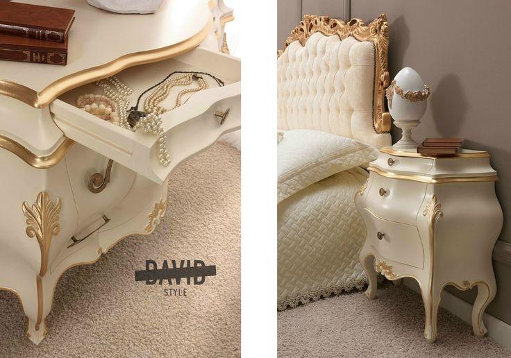 Baroque bedroom Camera da letto barocco #baroquebedroom #camerabarocco #furnitureitaly