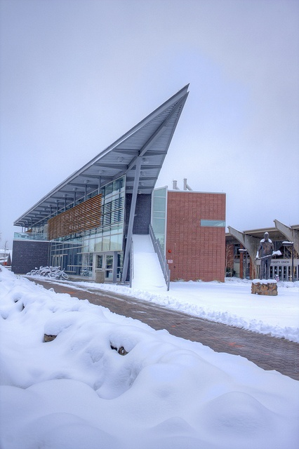 Northern Arizona University in Flagstaff- Oh gosh- that snow!!!