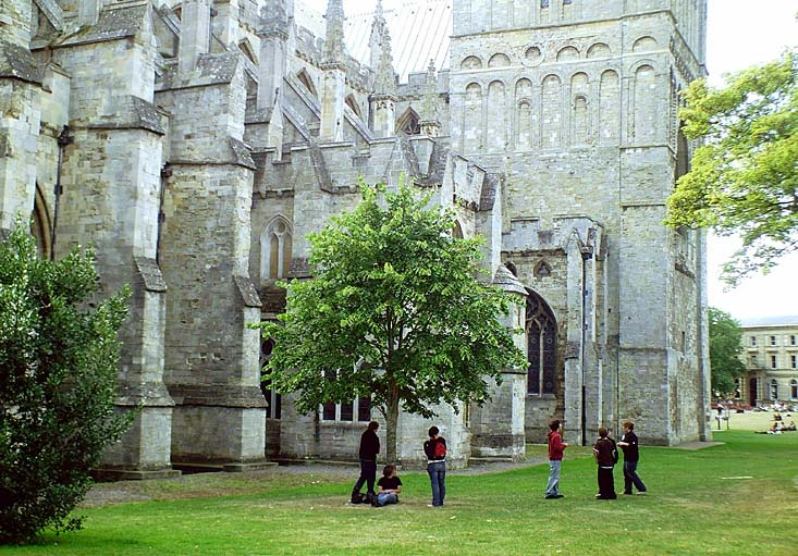 Exeter Cathedral, Devon.