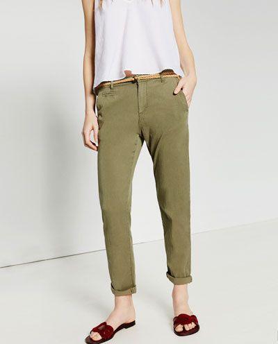 Chino pants Zara