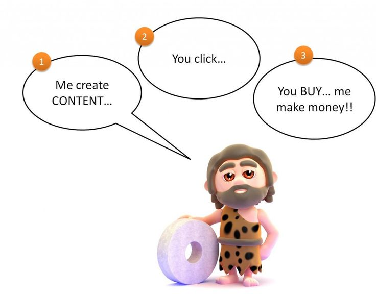 The Caveman approach to #ContentMarketing