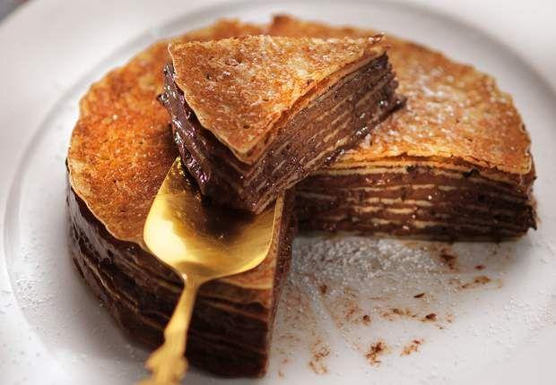 Gâteau de crêpes au chocolatVoir la recette du Gâteau de crêpes au chocolat >>