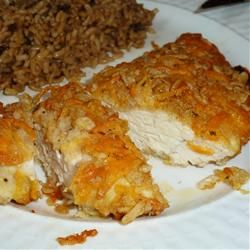 """Cheddar Baked Chicken 