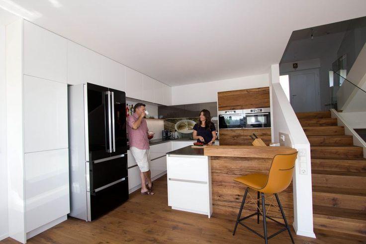 Der Side by Side Kühlschrank mit 2 Auszugsladen ist der Eye - küche mit side by side kühlschrank