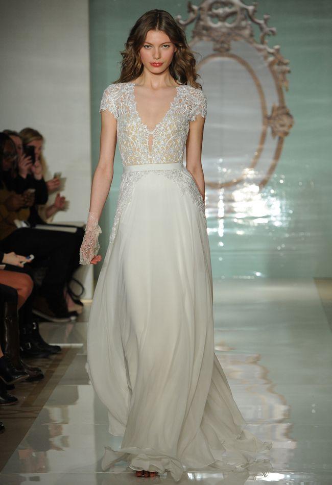 Reem Acra Spring 2015   Bridal Fashion Week