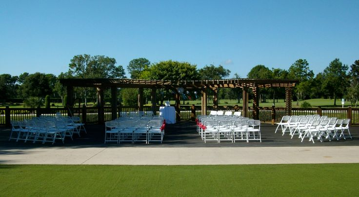 The Lakefront Wedding Trellis At The Orlando World Center Marriott Near Disney World Florida