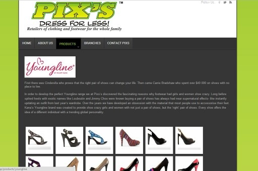 Pixs outfitters,  clothing franchise  Www.Pixsoutfitters.co.za