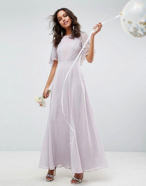 DESIGN delicate lace applique maxi dress in 2019  f11520d05bb0e