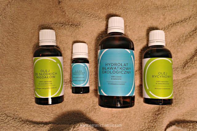 Oleje i hydrolaty