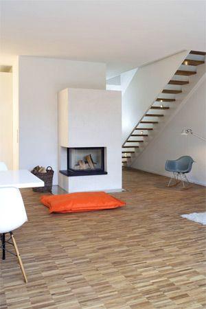 24 besten Boden Bilder auf Pinterest Haus ideen, Holz und Küchen - boden und wandgestaltung in weis modern haus