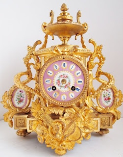 Queensly Living: French clock