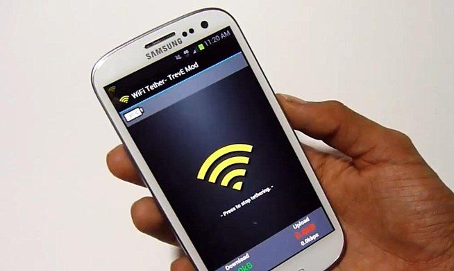 How to Turn Your Samsung Galaxy S3 into a Free Wi-Fi Hotspot ....????