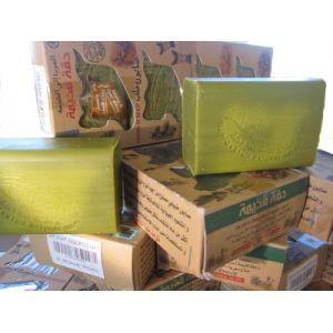 Oryginalne mydło Aleppo z woskiem pszczelim