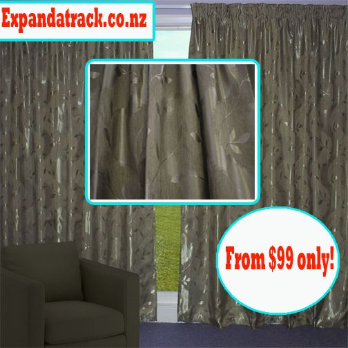 Bronze Nettle Elegant Curtain buy today! #Curtains #Drapes #Blinds #NZ #christchurch #Rangiora