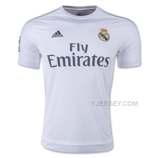http://www.yjersey.com/1516-real-madrid-home-soccer-jersey-shirt.html Only$27.00 15-16 REAL MADRID HOME SOCCER JERSEY SHIRT Free Shipping!