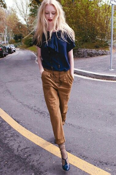 street style - attitude: Always wanted to try the parachute pant