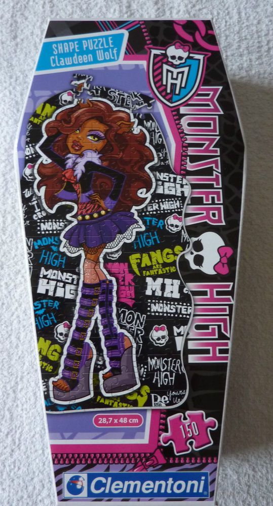 Monster High Clawdeen Wolf Puzzle 150 pièces Clementoni neuf