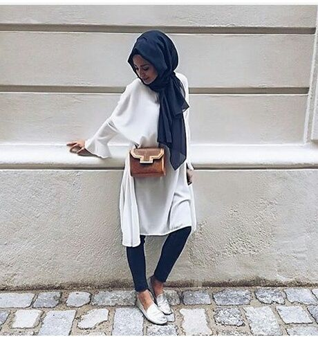 fashion, hijab, and stylé image