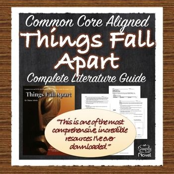 things fall apart literary argumentative Things fall apart: examining literary merit by feross aboukhadijeh in things fall apart by chinua achebe, the reader is taken on a literary journey to a nigerian tribe, the umuofia, to experience first-hand the struggles of a warrior named okonkwo.