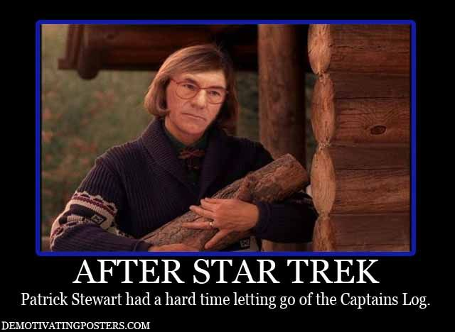 After Star Trek, Patrick Stewart had a hard time letting ...