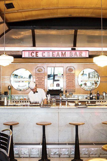 Ice Cream Bar, Cole Valley, SF