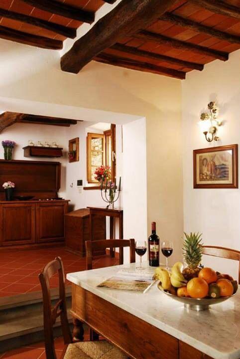 Here you are your kitchen in Tuscany this one is a part of the apartment cotogno in the estate if Tenuta Lupinari here you can prepare you favorite dishes ... Ecco a voi la vostra cucina in Toscana , questa e' quella dell'appartamento il cotogno del country hotel Tenuta Lupinari ... Qui potrai cucinarti i tuoi piatti preferiti ...