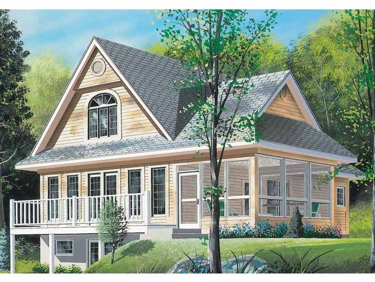 Eplans Craftsman House Plan View Lot Beauty 1482