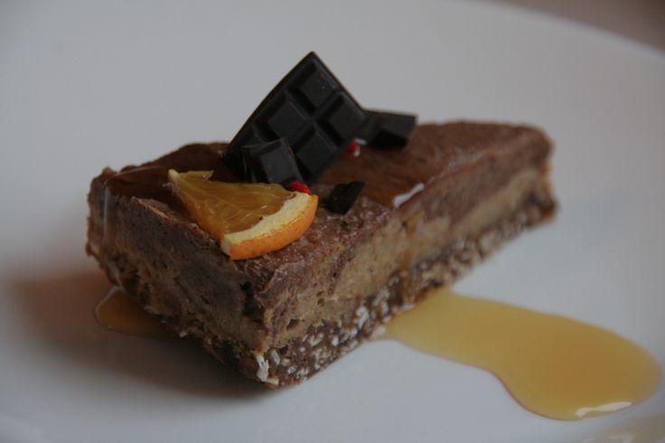 Льняной торт