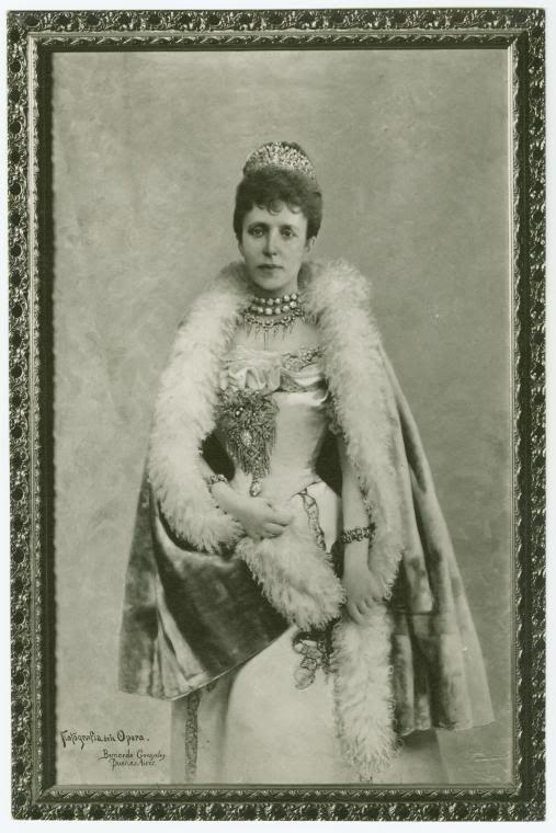 La reina María Cristina de Habsburgo-Lorena, segunda esposa de Alfonso XII