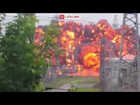 Что то прогремело  на электроподстанции в Томске