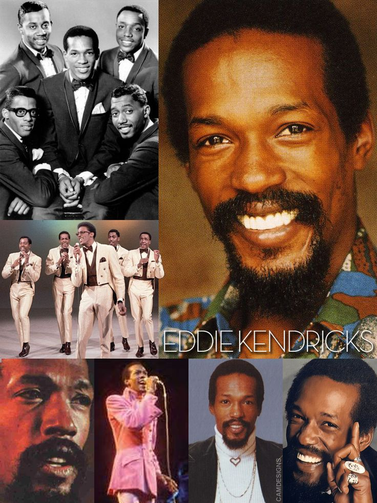 """Eddie Kendricks (born Edward James Kendrick, Dec. 17, 1939 – Oct. 5, 1992) was an American singer & songwriter. Noted for his distinctive falsetto singing style, he co-founded the Motown singing group The Temptations, and was one of their lead singers from 1960-71. His was the lead voice on such famous songs as """"The Way You Do The Things You Do"""", """"Get Ready"""", and """"Just My Imagination"""". As a solo artist, he recorded hits of his own during the 1970s, including the #1 single """"Keep On Truckin'""""."""